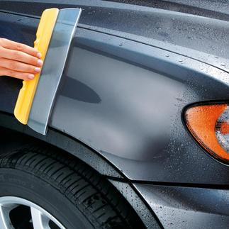 Water Blade® Zorgt voor streeploos droog. In een handomdraai. Voor de huishouding, de auto en de boot.