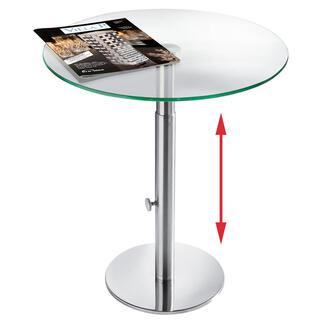 Glazen bijzettafeltje Een fraai design voor een ontelbaar aantal gelegenheden en elke omgeving.