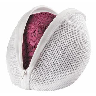 Gecapitonneerd wasnet, set van 2 Gecapitonneerd wasnet beschermt uw fijnste lingerie en uw wasmachine.