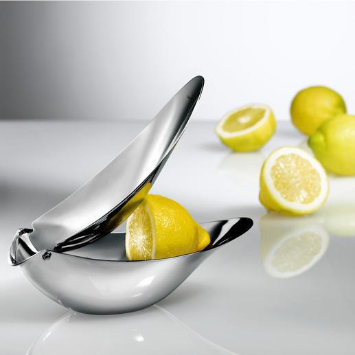 Design-citruspers Voor vers geperst en fijn gedoseerd sap zonder pitten.