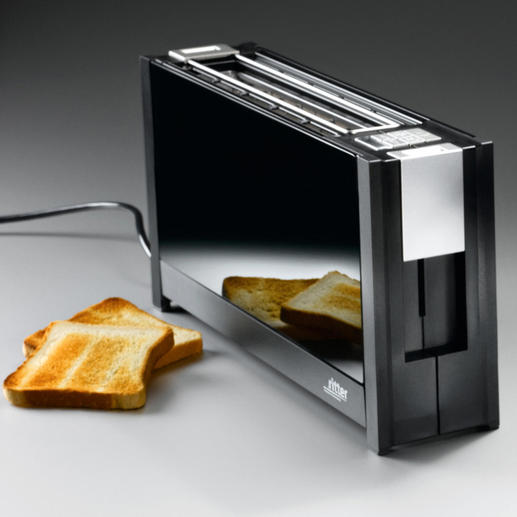 toaster, zwart
