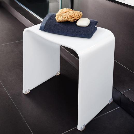 Acrylbadkruk Elegant acryldesign. Stabiel, 100% waterbestendig & ergonomisch gevormd. Voor binnen & buiten.