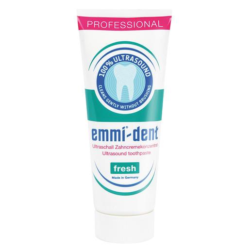 Ultrasone tandpasta, 75 ml Tandpasta voor ultrasone tandenborstel.Geen 'schurende' stoffen die de tanden & tandvlees kunnen beschadigen.