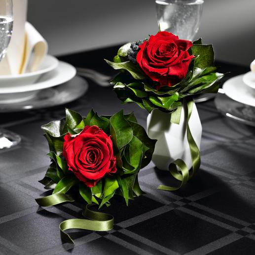 Geurig rozenboeket Echte rozen – zien er tot wel 2 jaar lang uit alsof ze net geplukt zijn.