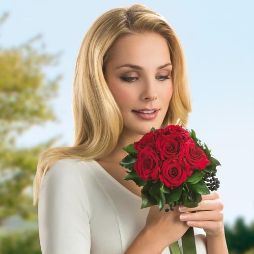 Het boeket met 6 rozen is ook ideaal om cadeau te geven met Valentijnsdag, Moederdag, verjaardag, bruiloft …