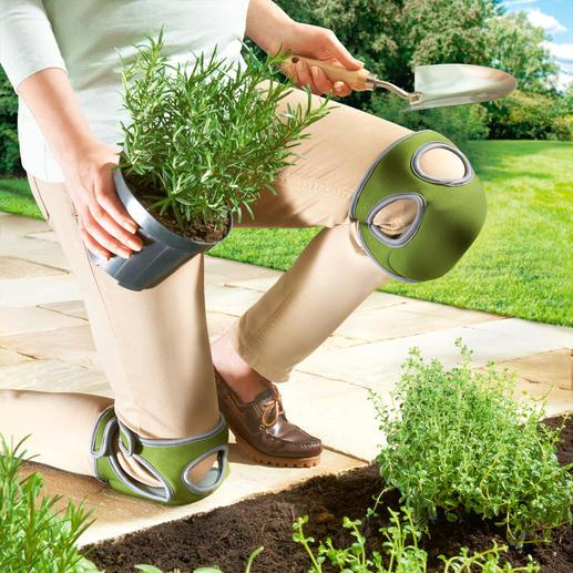 Comfortabele kniebeschermers Kneelo™, 1 paar - Comfortabele kniebeschermers met duo-foam-technologie: vederlicht, heerlijk zacht en toch stevig.