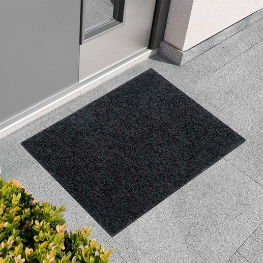 Dunne voetmat Even sierlijk als fijn tapijt. Maar genadeloos voor stof, modder en vuil.