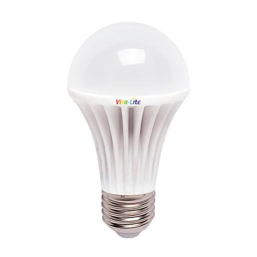 Viva Lite® volspectrum-led Maakt van elke E27-lamp een daglichtlamp. Ideaal om bij te lezen en werkt heerlijk ontspannend.