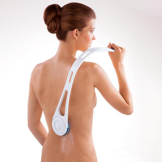 Set voor de rugverzorging Moeiteloos smeert u uw rug in – na het bad, de sauna, op het strand, ...