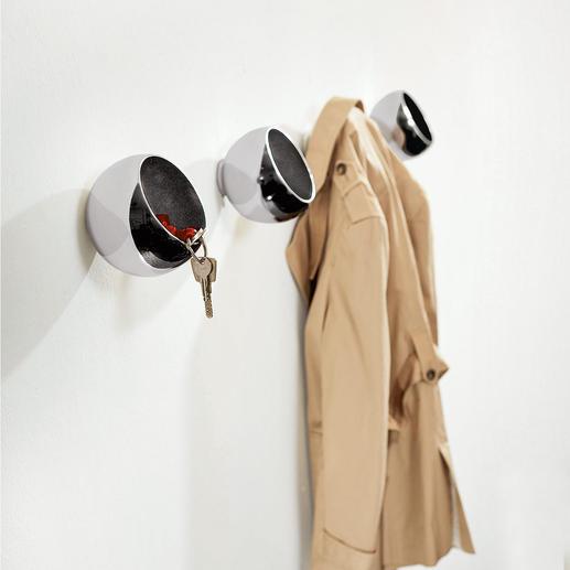 Garderobebol - Kleerhaak, opbergbakje en designobject in één.