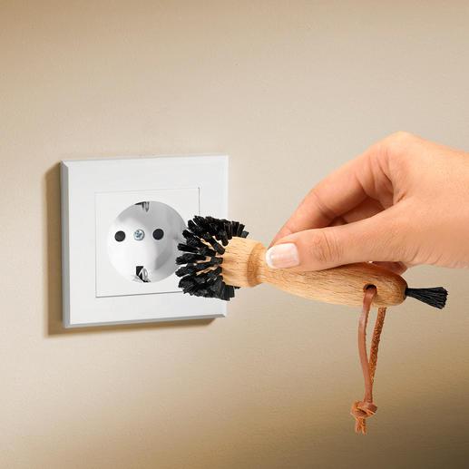 Stopcontactborsteltje - Maak uw stopcontacten nu in een handomdraai schoon.