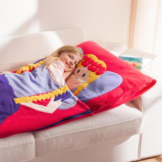 Snuggle Sac In een handgreep klaar voor op reis. Ideaal voor thuis en op reis: de feeën- en piratenslaapzak voor kinderen.