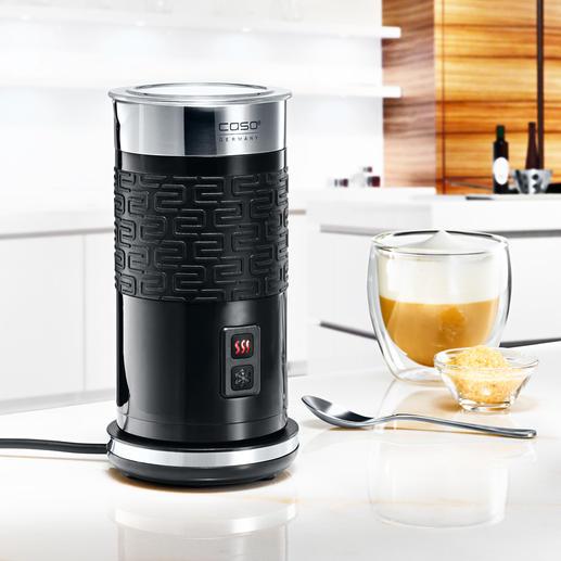 Melkopschuimer Fomini Crema 100 ml melkschuim binnen 80 seconden. Blijft tot 15 (!) minuten romig. Gemakkelijk te reinigen.