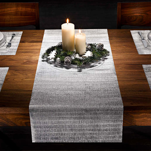 Glinsterende tafelfolie, 9-delige set
