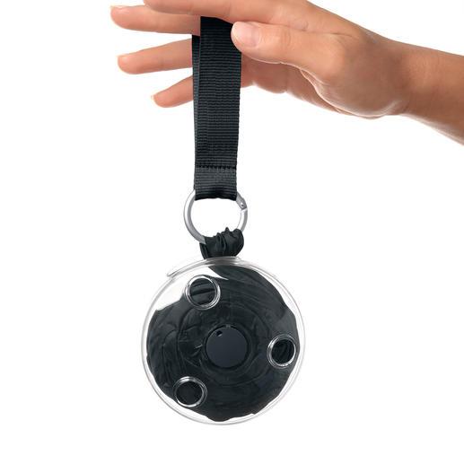 Wikkelshopper nautiloop® Als u aan de lus trekt, rolt de nautiloop® helemaal uit tot het volledige formaat.