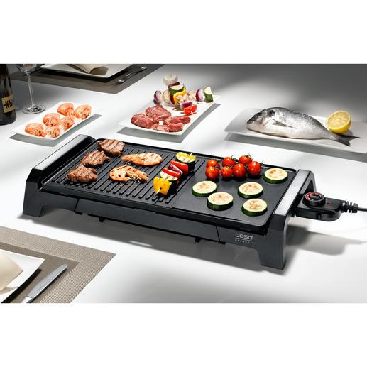 Caso tafelgrill BQ 2200 Alles wat u van een ideale tafelgrill mag verwachten, en dat voor een zeer gunstige prijs.