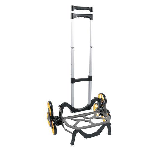 Inklapbare steekwagen UpCart - Overwint hoogteverschillen en hindernissen met het grootste gemak. Ruimtebesparend inklapbaar.