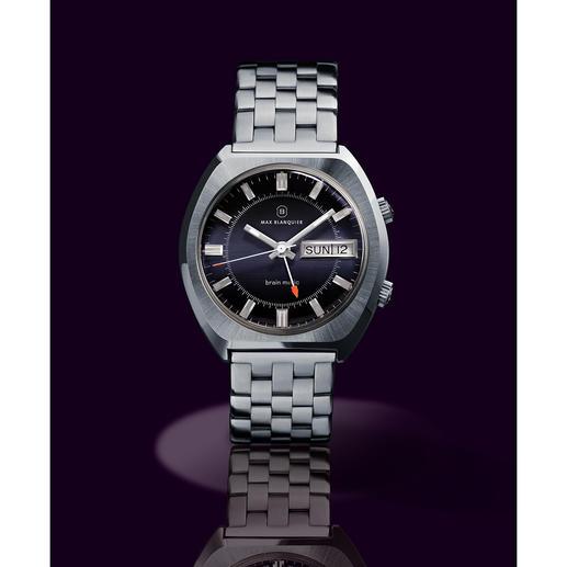 Blanquier wekkerhorloge '1973' - Een unicum voor de liefhebber: met origineel uurwerk en originele kast uit de jaren 70. Gelimiteerde oplage.