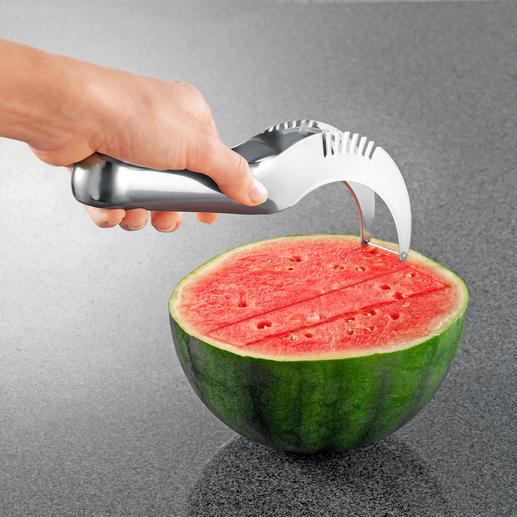 Meloensnijder Een meloen serveren was nog nooit zo gemakkelijk.