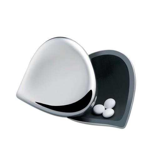 Door de thermoplastische hars aan de binnenkant zijn de pillen goed zichtbaar.