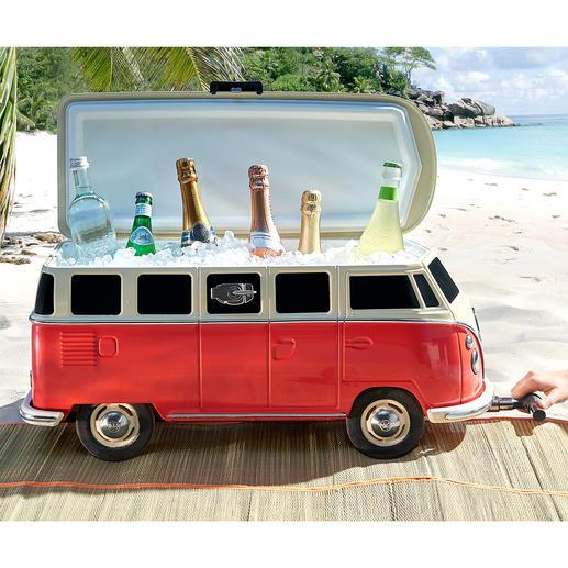 Het toppunt van cult: de meest trendy manier om drankjes te koelen aan het strand.