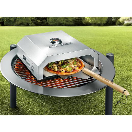 Pizza-oven Firebox - Bak originele steenovenpizza's als bij de Italiaan, zonder gedoe en in enkele minuten.