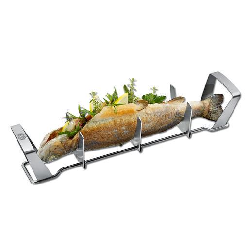 Vis bereiden als nooit tevoren. Vis in de houders leggen, met kruiden, specerijen,etc. vullen en naar wens bijvoorbeeld in de oven, op de barbecue of in heet water laten garen.