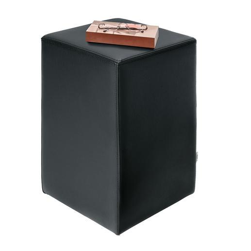 Design-kruk Solide, duurzame vulling.
