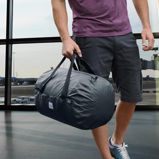 Ultralichte opvouwbare tas Ultralicht, opvouwbaar en 100 % waterdicht. Van scheurvast Cordura®-materiaal.