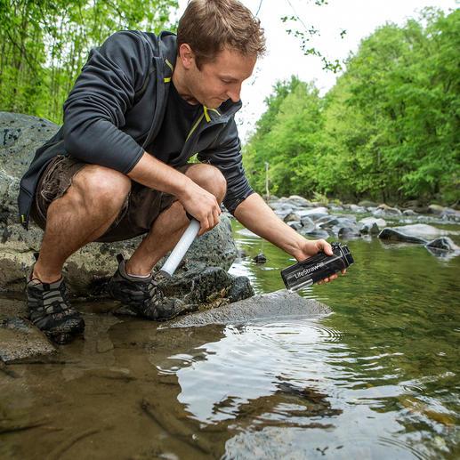Waterfilterfles LifeStraw® Go - Schoon water binnen een paar tellen. Past in elke rugzak en in elke tas.