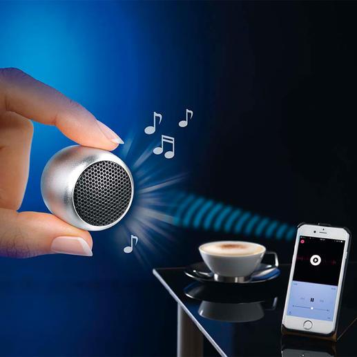 Mini-Bluetooth-luidspreker Ongelooflijke geluidskwaliteit in broekzakformaat. Snoerloos.