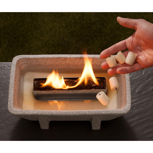 Geen as, geen roet en toch een sfeervol vuur – met de Schmelzfeuer® XL.