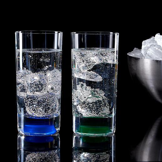 Eenvoudig aanraken is voldoende om uw drankjes op indrukwekkende wijze met leds te verlichten.