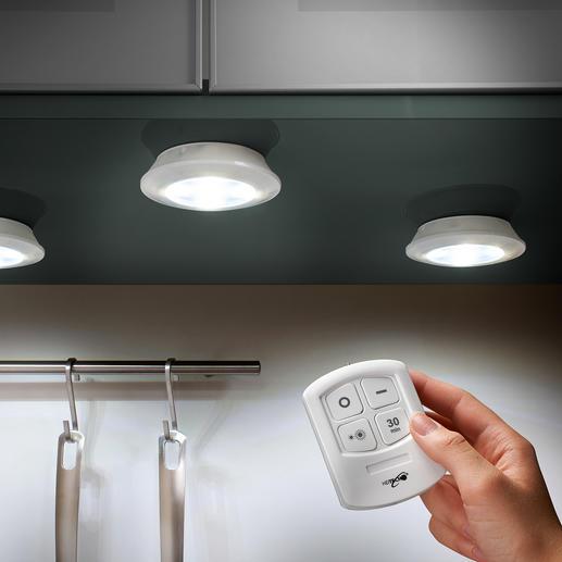 Draadloze led-verlichting, 3-delig online kopen