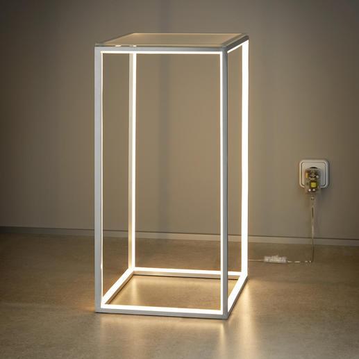 Tafel met lichtlijst