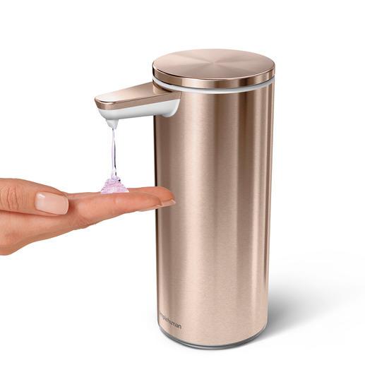 Door middel van de afstand van uw hand tot de sensor doseert u de gewenste hoeveelheid zeep.