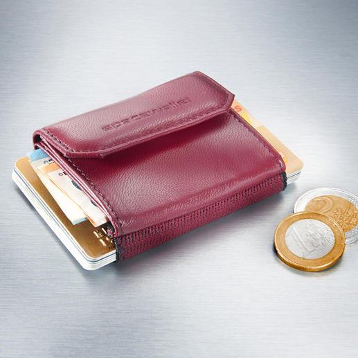 Space Wallet® mini-damesportemonnee - Handige, compacte damesportemonnee.