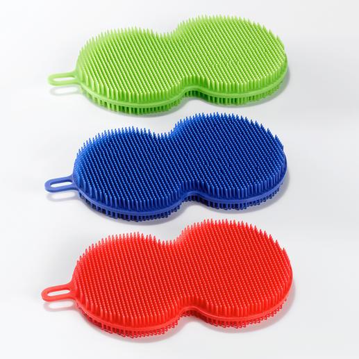 In een praktische set van 3 – kan droog of nat worden gebruikt.