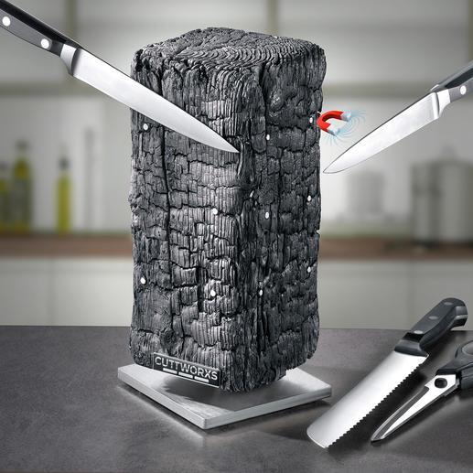 Magnetisch messenblok Pyrolith Moderne sculptuur? Design-messenblok? Beide!