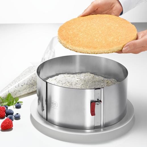 Door de hoogte van 10cm (in plaats van de gebruikelijke 6-7cm) perfect voor het maken van bijzondere taarten.