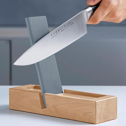 TYROLIT premium messenslijper Slijp uw messen op een professionele manier – snel en veilig voor u en het mes.