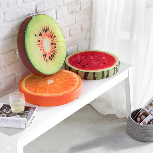 Fruitkussen, set van 3 Veel comfortabeler en mooier dan eenvoudige exemplaren.