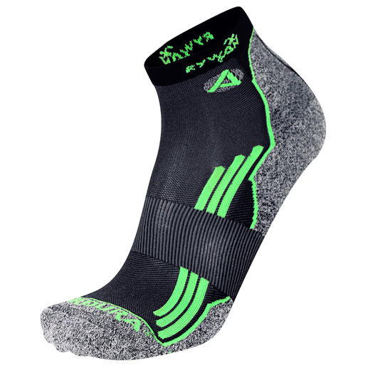 Te bestellen in twee lengten voor lage en hoge sport- en wandelschoenen.