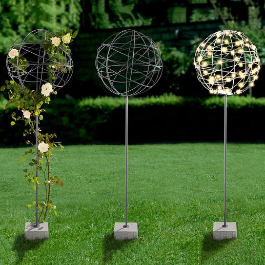Heel mooi als lichtobject of prachtige bloemenbol – maak ook zonder decoratie een echte blikvanger.