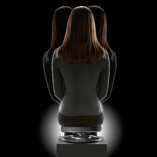 Zitting die de rug traint Combineer nu een correcte zithouding met het trainen van uw rugspieren.