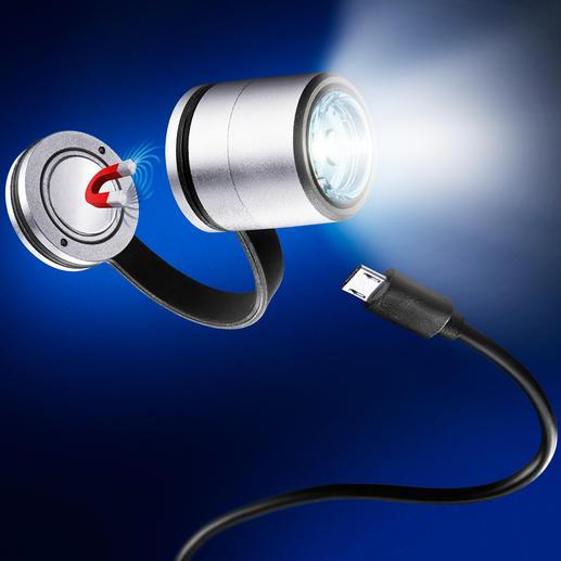 Led-Safety Light - Dit magnetische clip-on-lichtje maakt u in het donker beter zichtbaar.