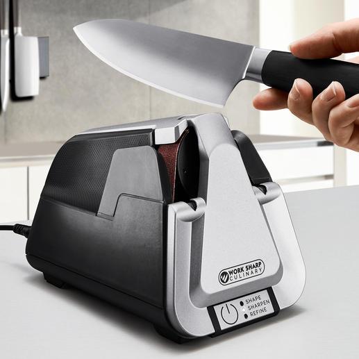 Work Sharp bandslijpapparaat Culinary E5 Professionele bandslijpmachine – nu ook voor gebruik thuis.