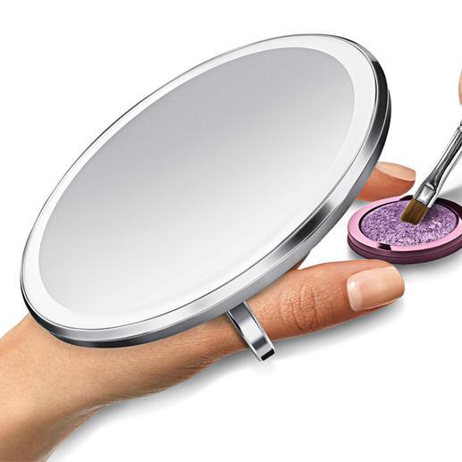 Sensorzakspiegel - Feller, gelijkmatiger en kleurechter vergroot 3 keer