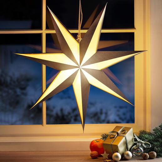 Vouwster met verlichting - Kerstklassieker in markant, modern design.