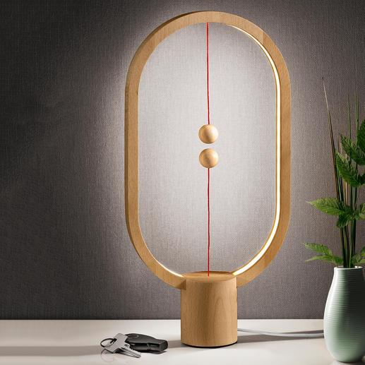Heng Balance Lamp Fascinerend lichtobject in plaats van een eenvoudige tafellamp.